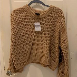 Forever 21 NWT cropped sweater
